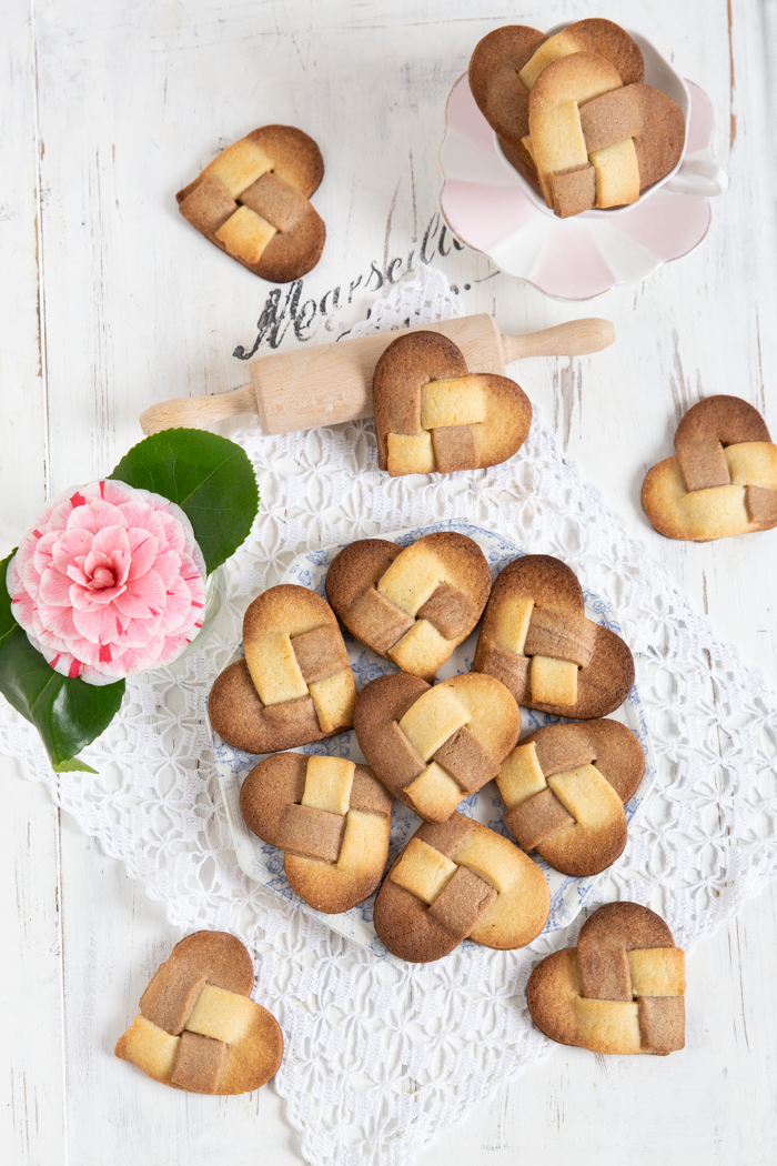 Fröbelherz Kekse
