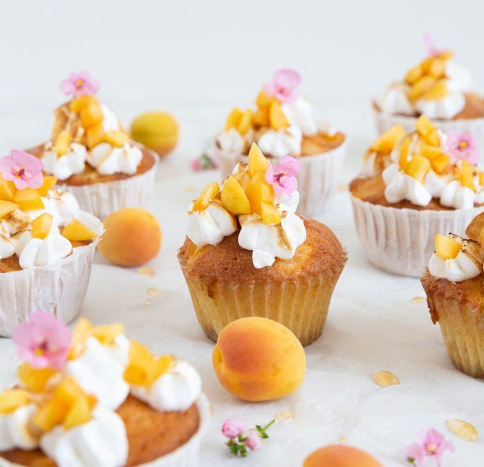 Aprikosen Cupcakes